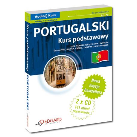 Portugalski Kurs podstawowy - Nowa Edycja (Książka + 2 x CD Audio)