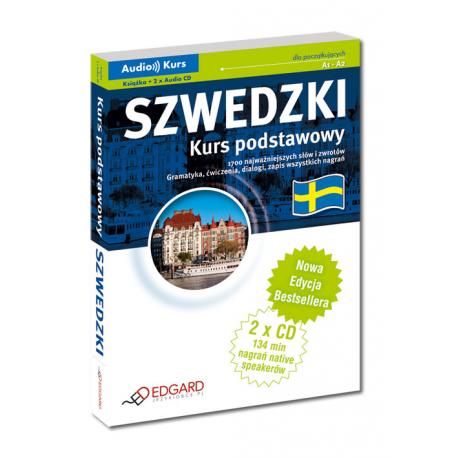 Szwedzki Kurs podstawowy - Nowa Edycja! (Książka + 2 x CD Audio)