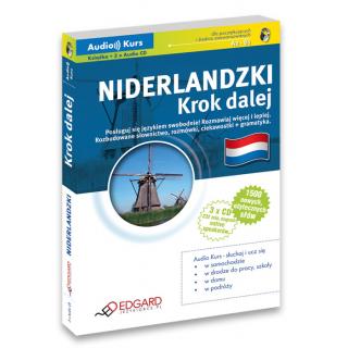Niderlandzki Krok dalej (Książka + 3 x CD Audio)