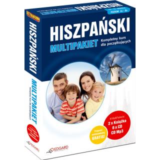 Hiszpański MultiPakiet (2 x Książka + 6 x CD Audio + MP3 z programem multimedialnym)