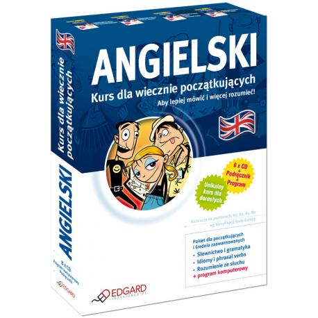 Angielski Kurs dla wiecznie początkujących (Książka + 7 x CD + program komputerowy)