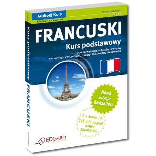 Francuski Kurs podstawowy - Nowa Edycja (Książka + 2 x CD Audio)