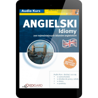 Angielski Idiomy (E-book + mp3)