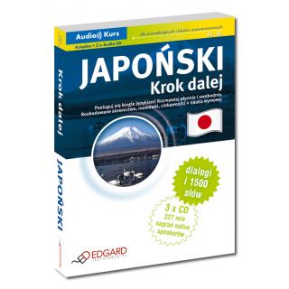 Japoński Krok dalej (książka + nagrania do pobrania)