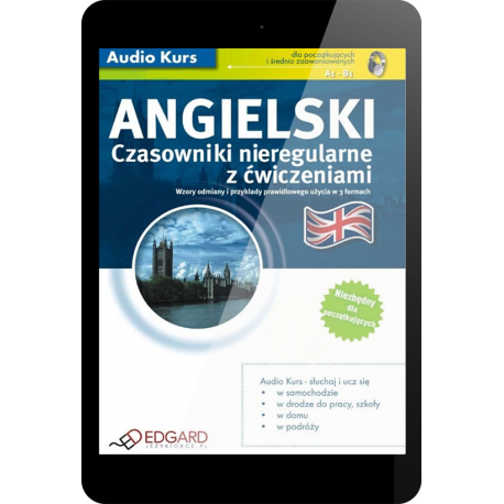 Angielski Czasowniki nieregularne z ćwiczeniami (E-book + mp3)