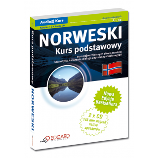 Norweski Kurs podstawowy - Nowa Edycja (Książka + 2 x Audio CD)