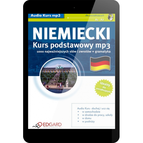 Niemiecki Kurs podstawowy mp3 (E-book + mp3)