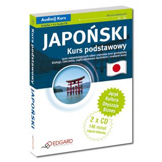 Japoński Kurs podstawowy (Książka + 2 x Audio CD)
