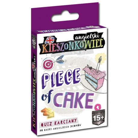 Kieszonkowiec angielski Piece of Cake (15+) - gra karciana