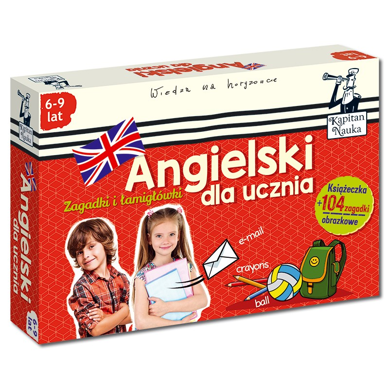 Angielski dla ucznia (6-9 lat)