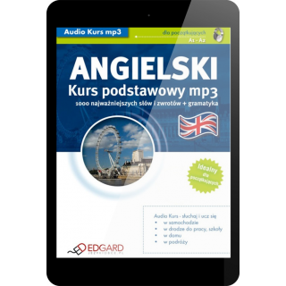 Angielski Kurs podstawowy mp3 (PDF + mp3)