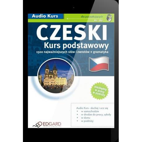 Czeski Kurs podstawowy (E-book + mp3)