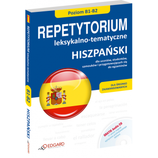 Hiszpański Repetytorium leksykalno-tematyczne B1-B2 (Książka + CD Audio)