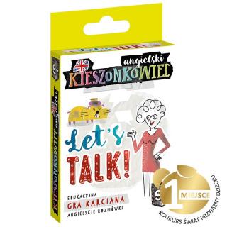Kieszonkowiec angielski 9+ Let's Talk