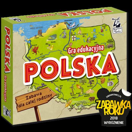 Gra edukacyjna Polska
