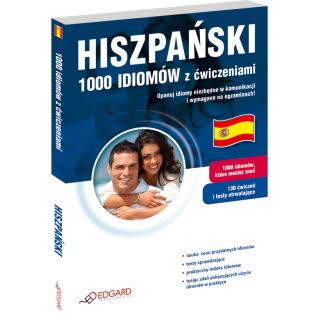 Hiszpański 1000 idiomów z ćwiczeniami (Książka)