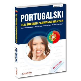 Portugalski dla średnio zaawansowanych (Książka + Audio CD)