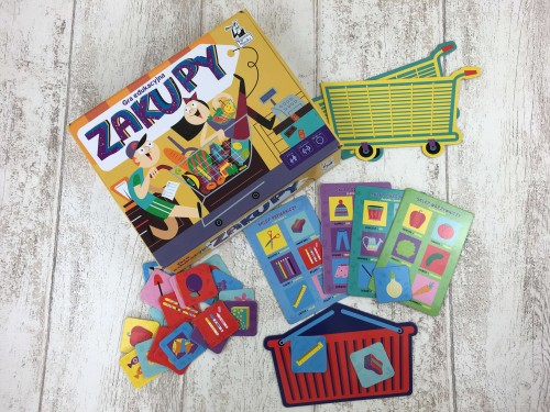 Kapitan Nauka Gra edukacyjna Zakupy (3-7 lat)