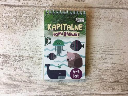 Kapitan Nauka Kapitalne łamigłówki (4-5 lat)