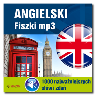 Angielski Fiszki mp3 1000 najważniejszych słów i zdań  (Program + Nagrania do pobrania)