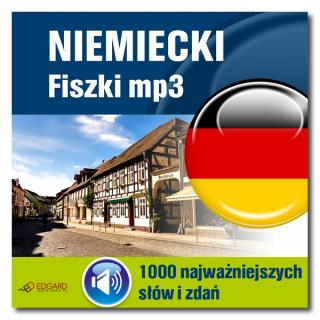 Niemiecki Fiszki mp3 1000 najważniejszych słów i zdań  (Program + Nagrania do pobrania)