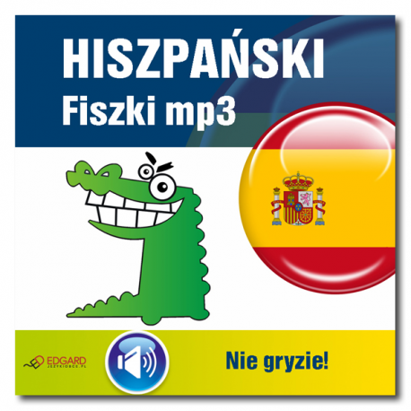 Hiszpański nie gryzie! Fiszki mp3  (Program + Nagrania do pobrania)