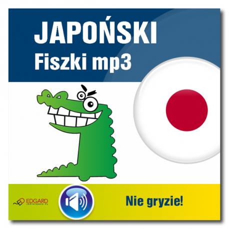 Japoński nie gryzie! Fiszki mp3  (Nagrania do fiszek)