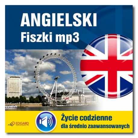 Angielski Fiszki mp3 Życie codzienne i 15 innych tematów (Program + Nagrania do pobrania)