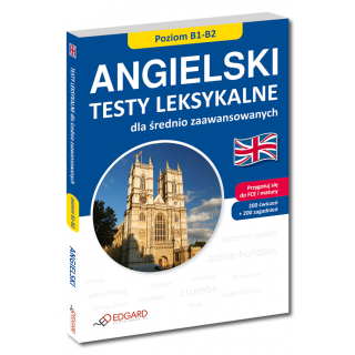 Angielski Testy leksykalne dla średnio zaawansowanych  (Książka)