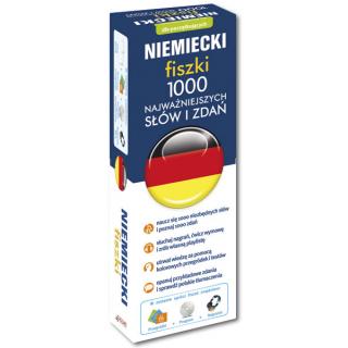 Niemiecki fiszki 1000 najważniejszych słów i zdań +CD  (1000 fiszek + CD-ROM z programem i nagraniami)