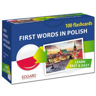 Polski. 100 fiszek. Pierwsze słowa dla...