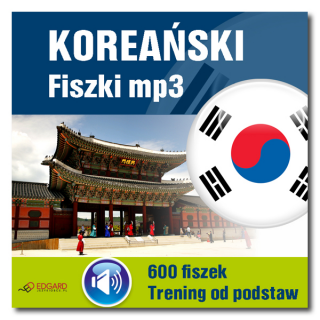 Koreański Fiszki mp3 Trening od podstaw   (Program + Nagrania do pobrania)