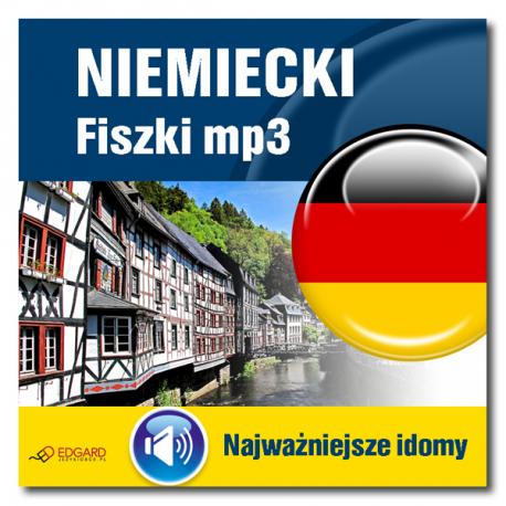 Niemiecki fiszki mp3 Najważniejsze idiomy (Program + Nagrania do pobrania)