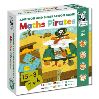 Math Pirates. Addition and Subtraction Game....