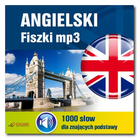 Angielski fiszki mp3 1000 słówek dla znających podstawy (Program + Nagrania do pobrania)