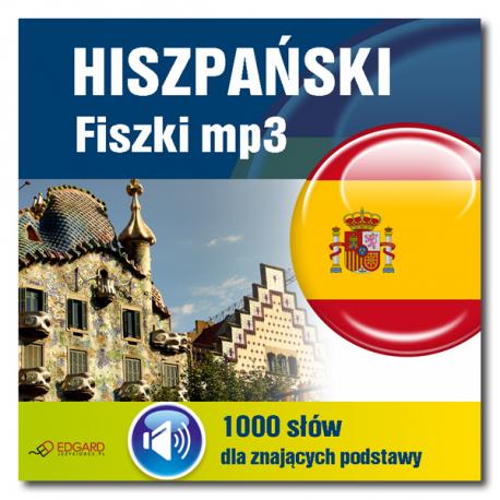 Hiszpański fiszki mp3 1000 słówek dla znających podstawy (Program + Nagrania do pobrania)