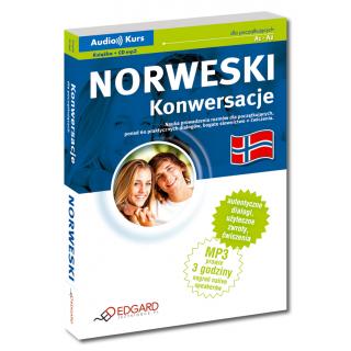 Norweski Konwersacje dla początkujących (książka + CD mp3)