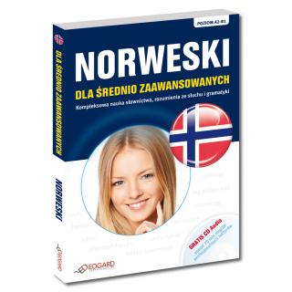 Norweski dla średnio zaawansowanych (Książka + CD)