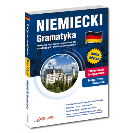 Niemiecki Gramatyka Trzecia Edycja (Książka)