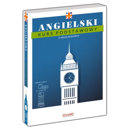 Angielski Kurs podstawowy. 3. edycja (Książka + 3 płyty CD + program)