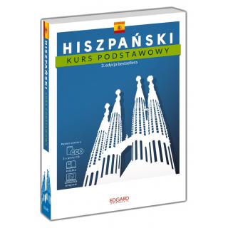 Hiszpański Kurs podstawowy. 3. edycja (książka + 3 płyty CD + program)
