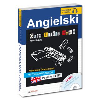 Angielski KRYMINAŁ z ćwiczeniami + audiobook Cold Little Hand