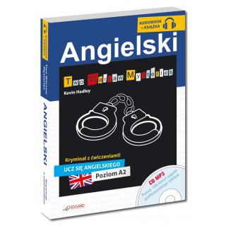 Angielski KRYMINAŁ z ćwiczeniami + audiobook Two Warsaw Mysteries