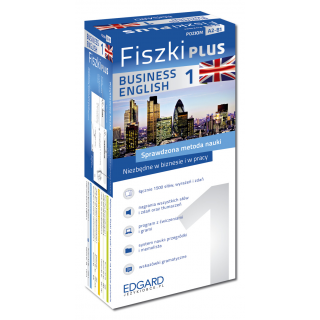 Angielski Fiszki PLUS Business English 1  (600...