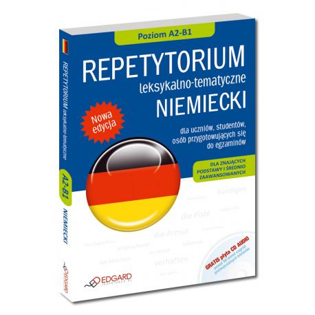 NIEMIECKI Repetytorium leksykalno-tematyczne dla znających podstawy i średnio zaawansowanych