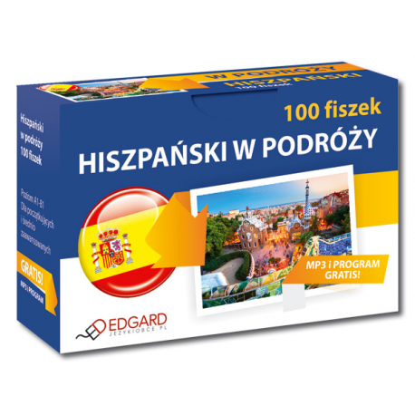 Hiszpański 100 fiszek W podróży (100 fiszek + program i nagrania)