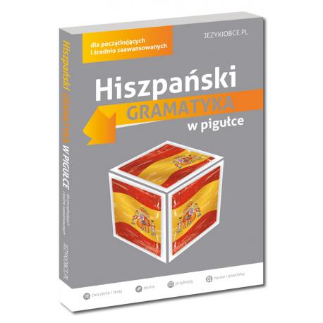 Hiszpański Gramatyka w pigułce (Książka)