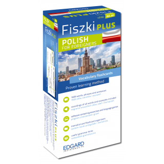 Fiszki PLUS Polish for foreigners  (600 fiszek...
