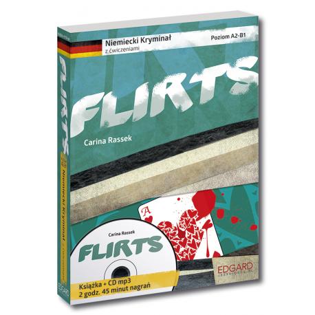 Niemiecki KRYMINAŁ z ćwiczeniami + audiobook Flirts Nowy wydanie
