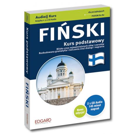 Fiński kurs podstawowy NOWA EDYCJA (Książka + 2 x CD Audio)
